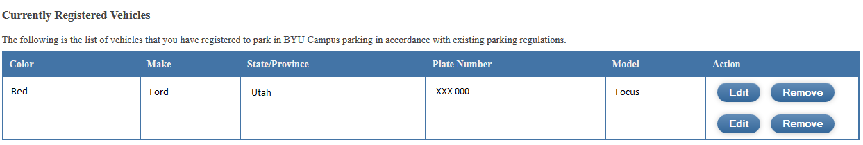 Knowledge - Parking Registration and Payment