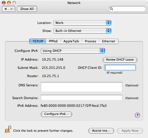 Knowledge - Mac OS X Networking tips