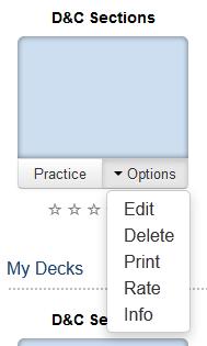 Knowledge - BYU Flashcards - Editing a Deck